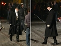 on set of Bel Ami  - twilight-series photo