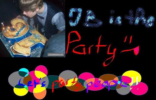 party hard justin bieber