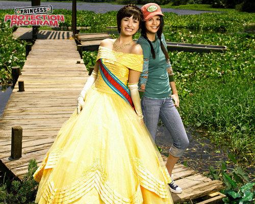Disney Channel Girls fond d'écran entitled princess protection program