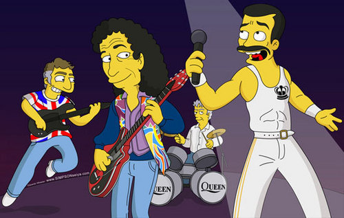 queen simpsons