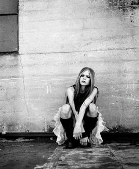 Avril Lavigne wallpaper entitled rare under my skin images!