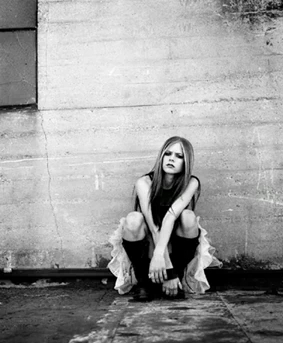 Avril Lavigne wallpaper titled rare under my skin images!
