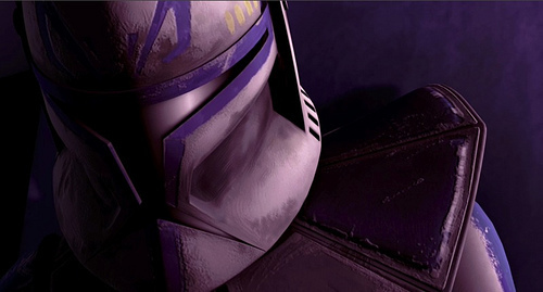 Captain Rex wallpaper entitled rex downed