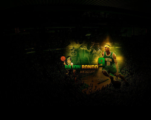Boston Celtics Hintergrund entitled rondo