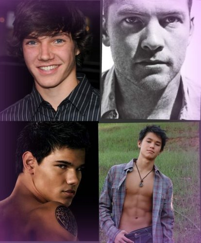 sam wothington, taylor lautner , chris massoglia and booboo stewart