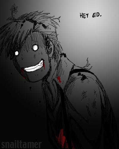 Alphonse Elric fondo de pantalla entitled scary al