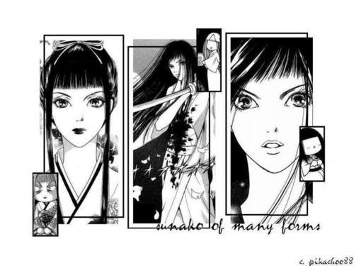 sunako's different faces