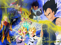 thunder vegeta - dragon-ball-z wallpaper