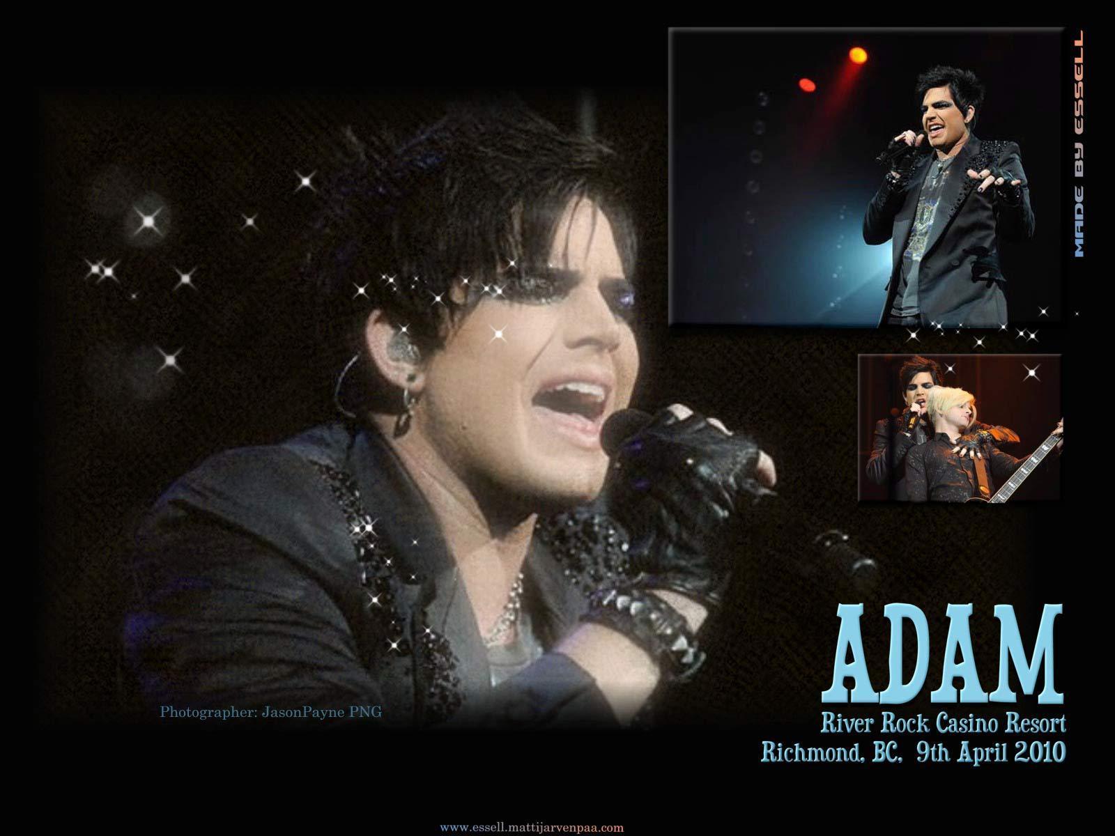 Adam River Rock Casino Wallpaper Adam Lambert Wallpaper