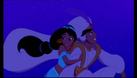 Aladdin and Jasmine wallpaper called Aladdin-A Whole New World