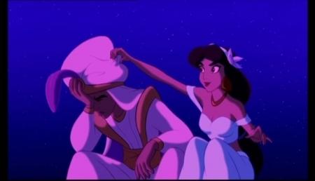 알라딘 and 재스민 속, 재 스민 바탕화면 entitled Aladdin-A Whole New World