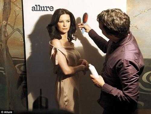 Allure magazine shoot
