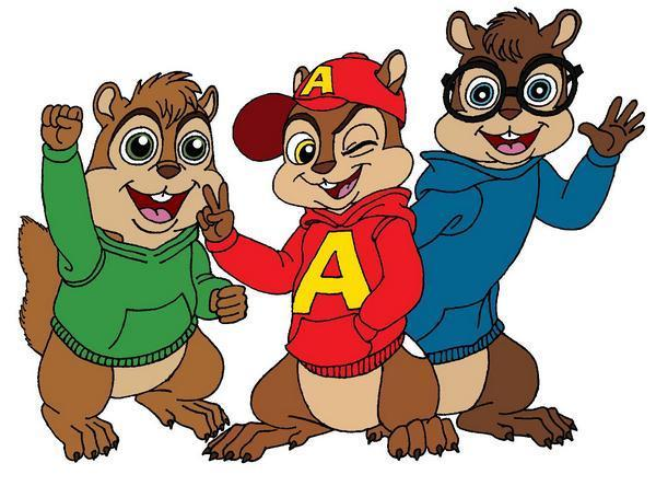 Alvin, Simon, and Theodore