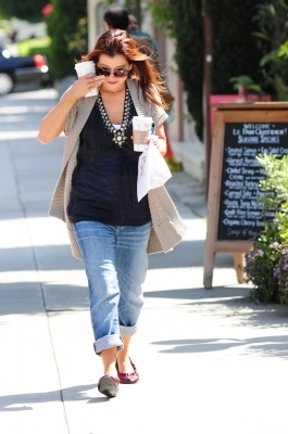 Alyson out in Brentwood