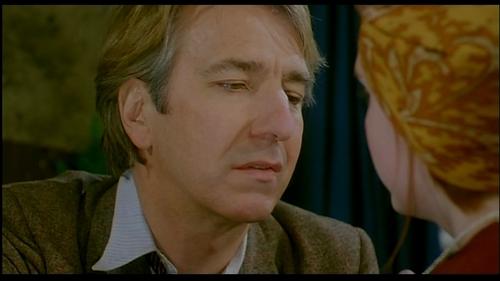 Alan Rickman wolpeyper entitled An Awfully Big Adventure Screencap