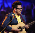 Andrew Garcia singing Can't Buy Me Love - american-idol photo