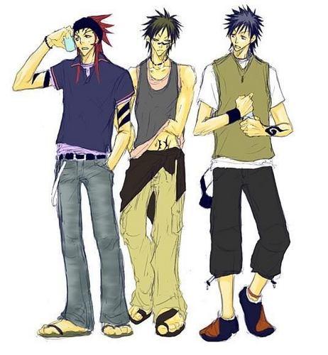 Anime-Jungs