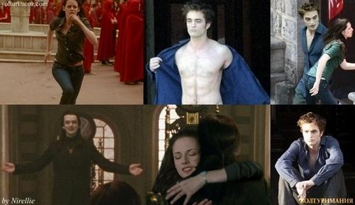 Aro, Edward and Bella