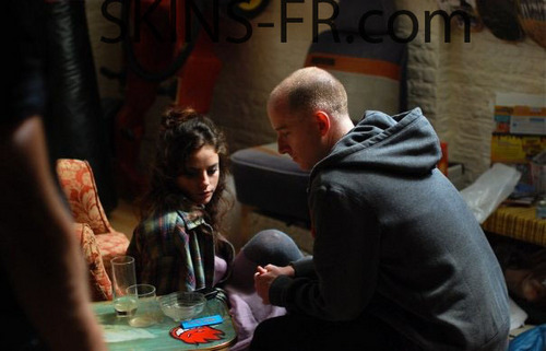 Effy Stonem Обои called Behind The Scenes Season 4