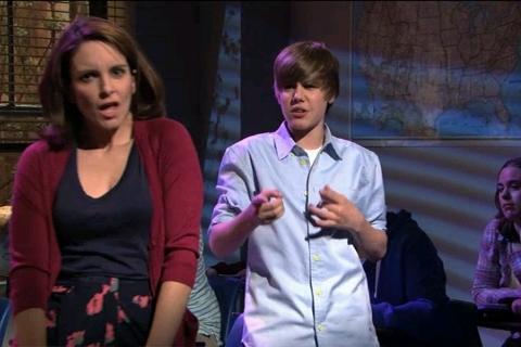Bieber On SNL 4.10.10