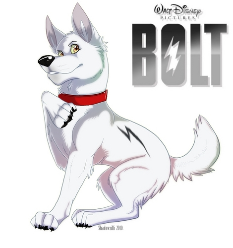 Bolt fã Art