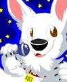 Bolt sings karaoke