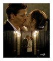 Bones Past kiss
