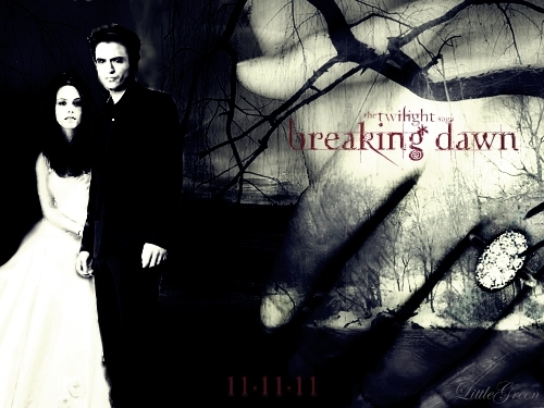 Twilight Breaking Dawn Posters Breaking Dawn Poster