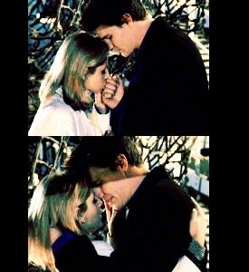 Buffy & Angel scenes