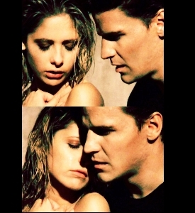 Buffy & Angel scenes