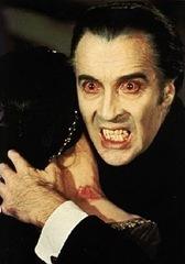 Christopher Lee as Dracula