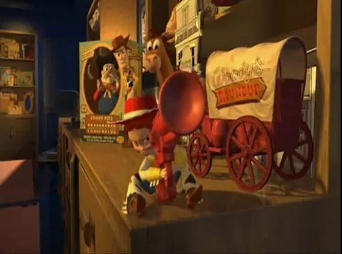 Jessie (Toy Story) fond d'écran called Clusterf#ck of screencaps