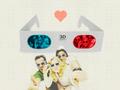 chuck - Cool 3-D Chuck,Sarah And Casey Wallpaper wallpaper