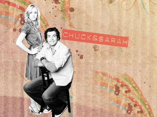 Cool Cuck And Sarah Wallpaper (6 Versions) - chuck Wallpaper