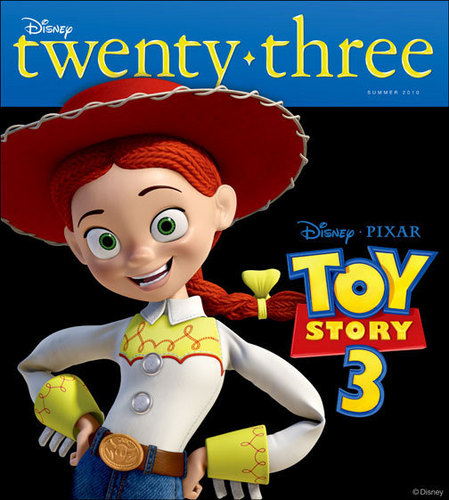 Jessie (Toy Story) wallpaper called D23 Magazine Cover- Jessie
