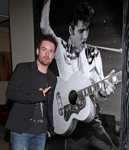 David At The If I Can Dream House! - david-cook Photo