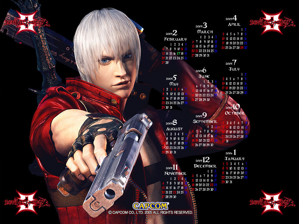 Devil May Cry 3 - Wallpaper
