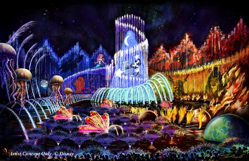 Disney's World of Color Show- Finale Concept Art