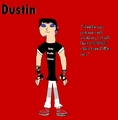 Dustin, The Punky Gay - total-drama-island fan art