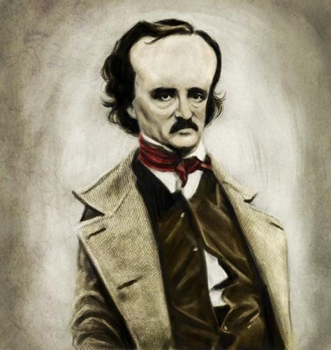 Edgar Allan Poe Обои titled EAP