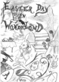 Easter Day in Wonderland - alice-in-wonderland-2010 fan art