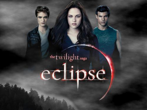 Eclipse Movie Poster karatasi la kupamba ukuta
