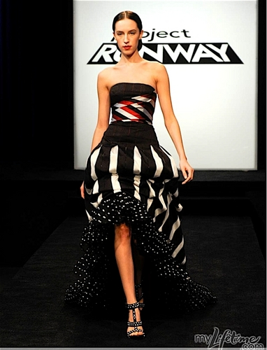 Project runway, start-und landebahn Hintergrund entitled Emilio's Circus inspired Design