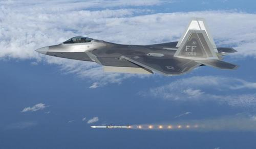 F-22 missle