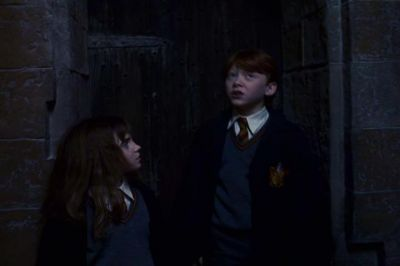 FIRST YEAR TRIO - harry-ron-and-hermione Screencap