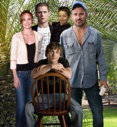 Prison Break - Family Scofield and Family Burrows