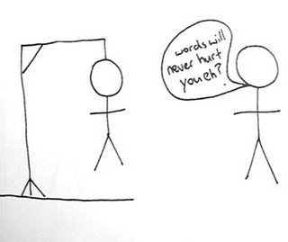 Funny stick figures