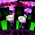 Future Dib And KId Dib - invader-zim fan art