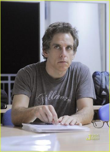 Gerard Butler: Haiti with Ben Stiller!