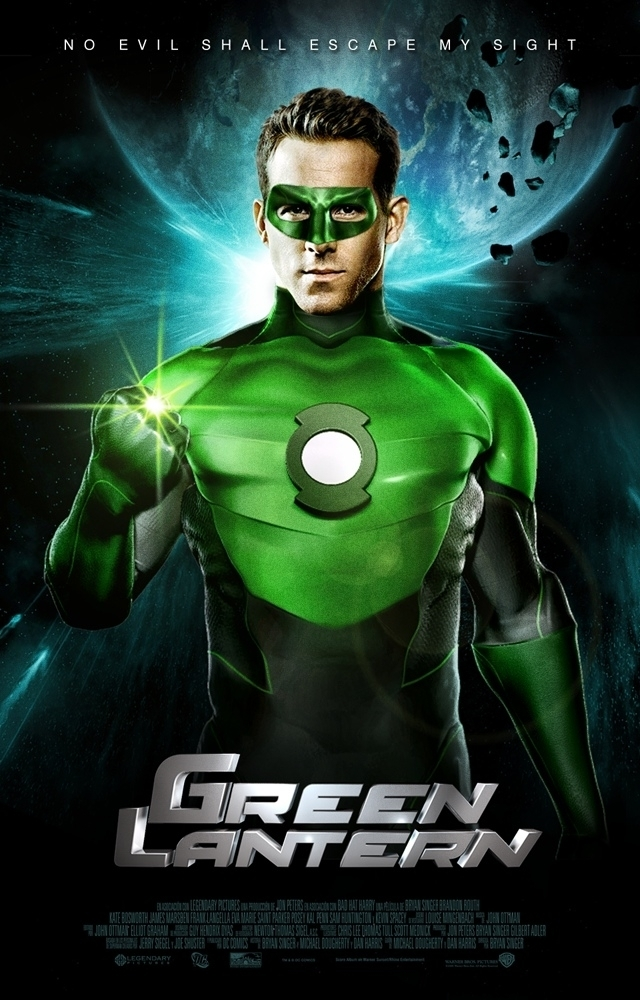Green Lantern Movie Poster - Ryan Reynolds Photo (11426585 ...
